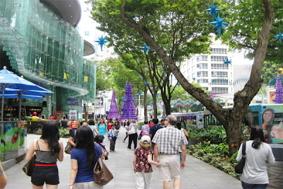 jalan ochard, tempat belanja, tempat wisata, singapore, singapura