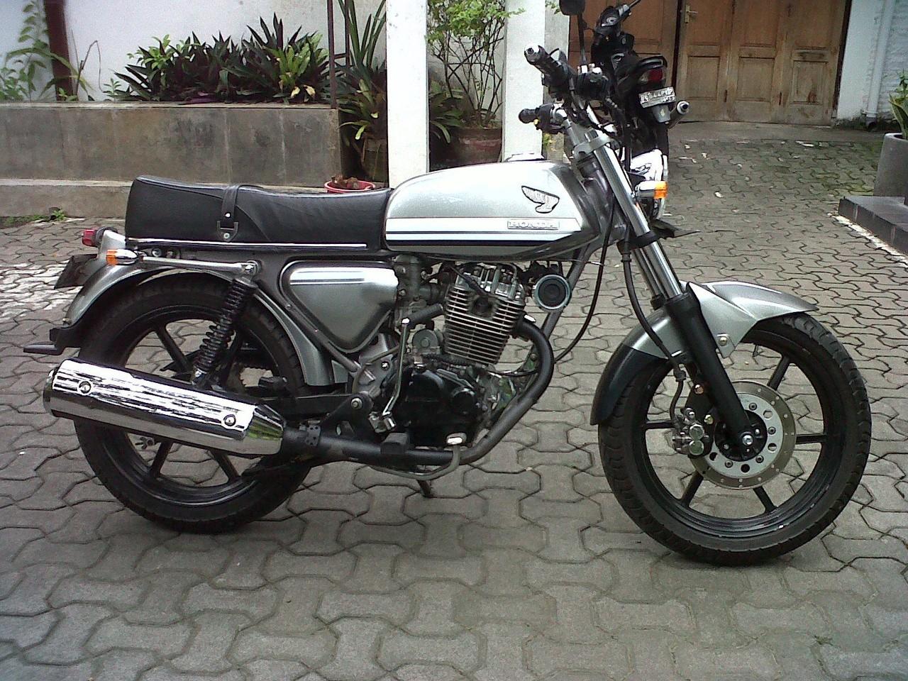 Foto Modifikasi Honda CB