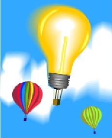 Light Bulb Baloon