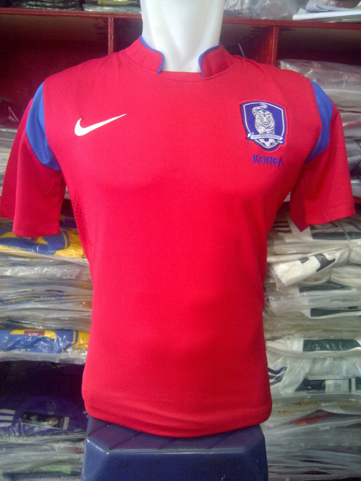 Jersey GO Korea Selatan Home World Cup 2014