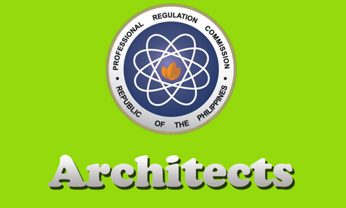 January 2014 Top Ten Architects Board Exam Passers