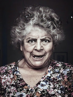 BAFTA Behind The Mask Exhibition - Miriam Margolyes - Geek Girl Kerensa Bryant