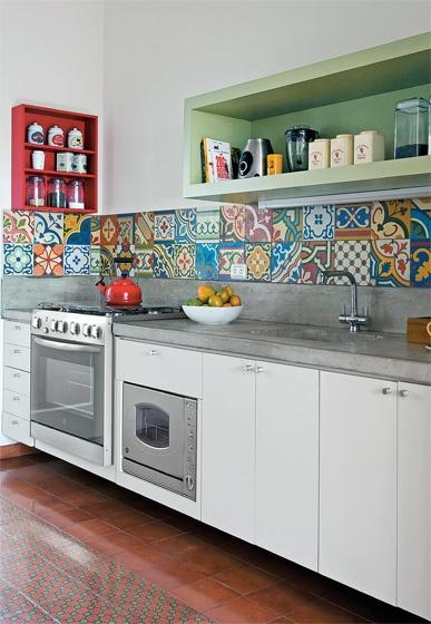 Azulejos para una cocina unica - Azulejo para cocina rustica ...