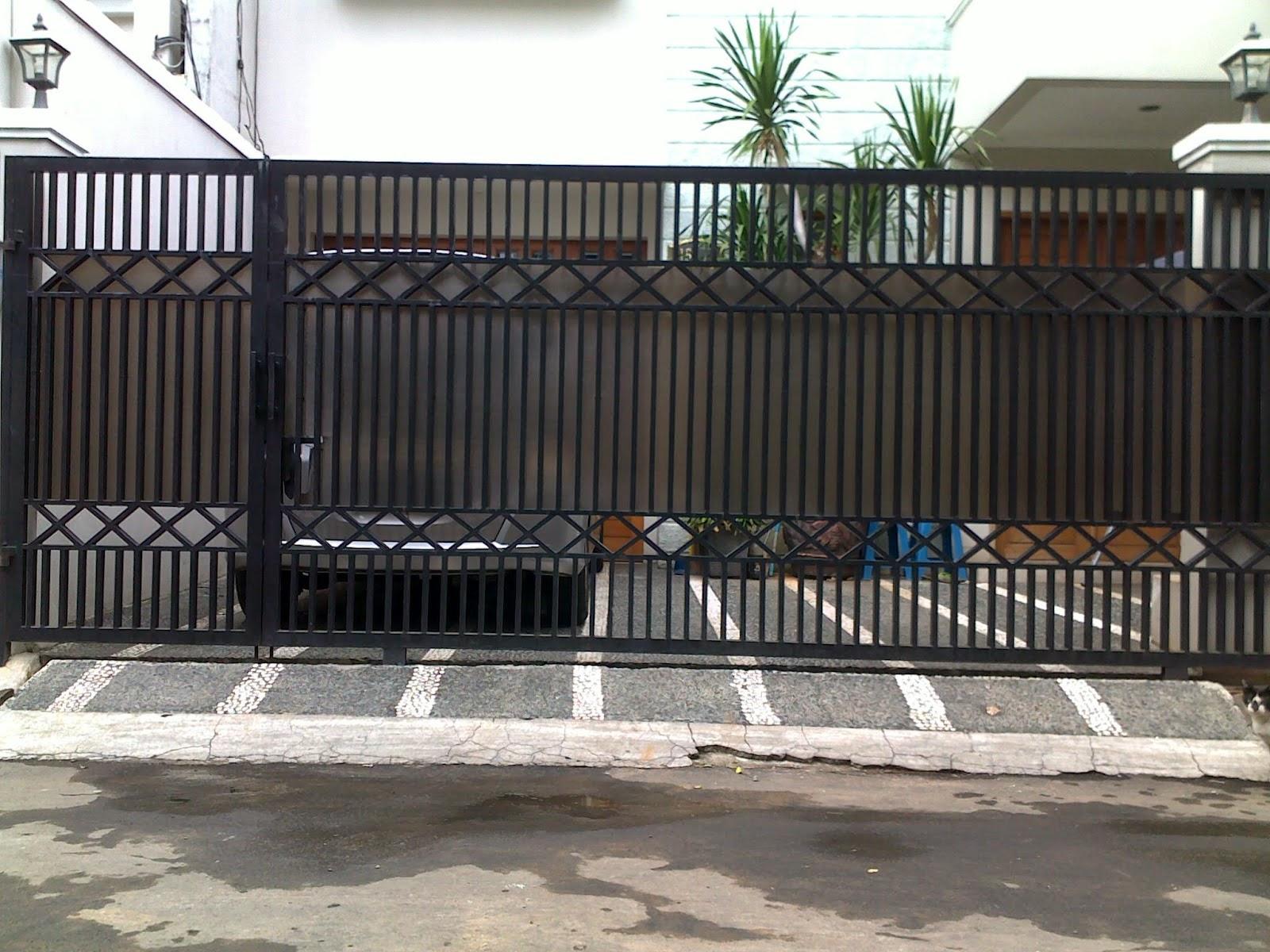 gambar desain pagar rumah minimalis terbaru gambar rumah