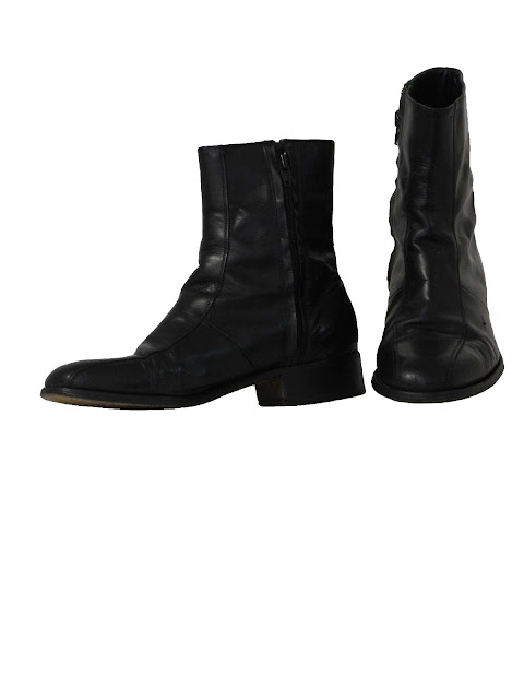 Mens Ankle Boots Zipper1