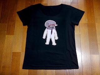 海底紳士スケおじさんTシャツ、淑女用Lサイズ