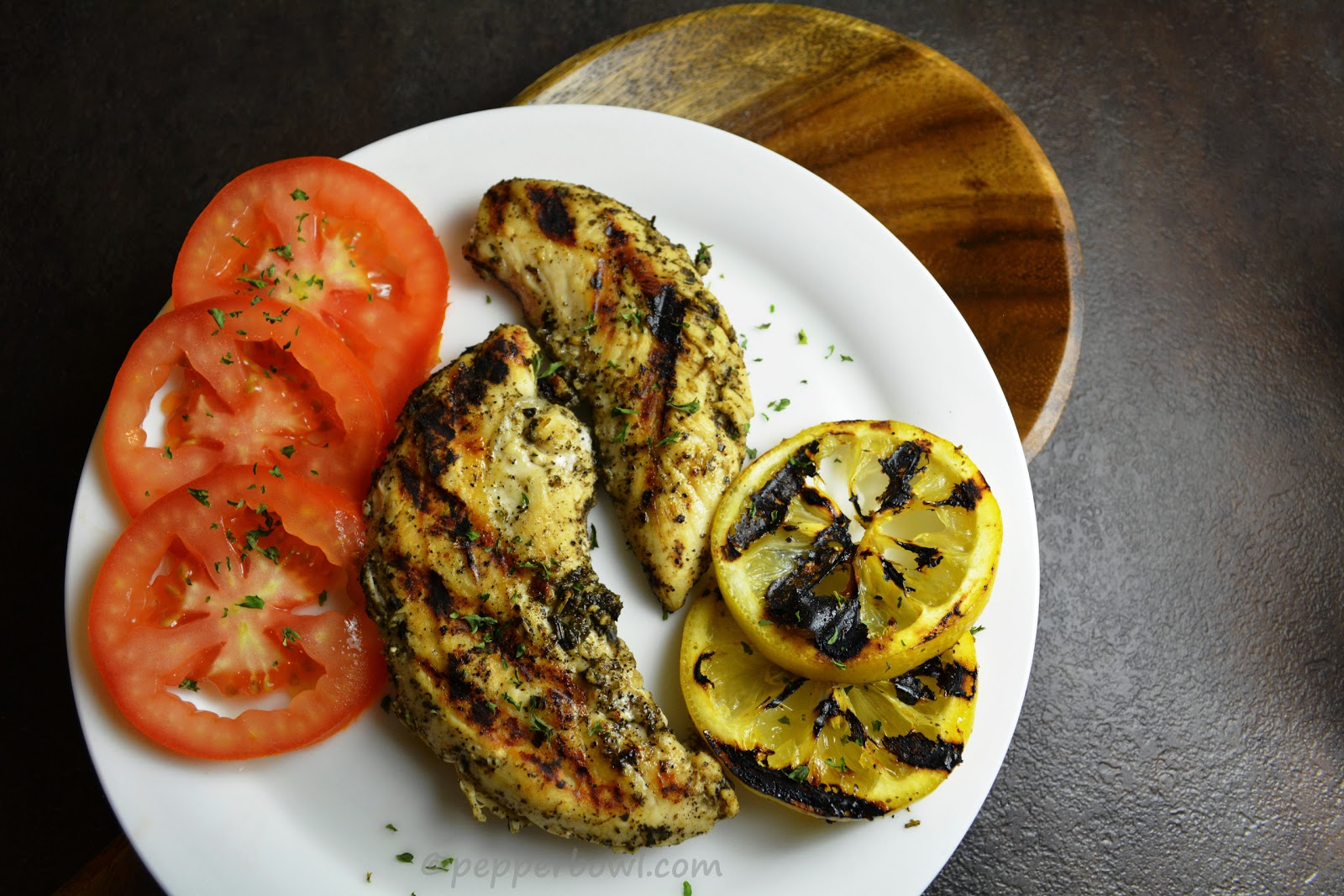 Lemon Grilled Chicken, a super simple recipe
