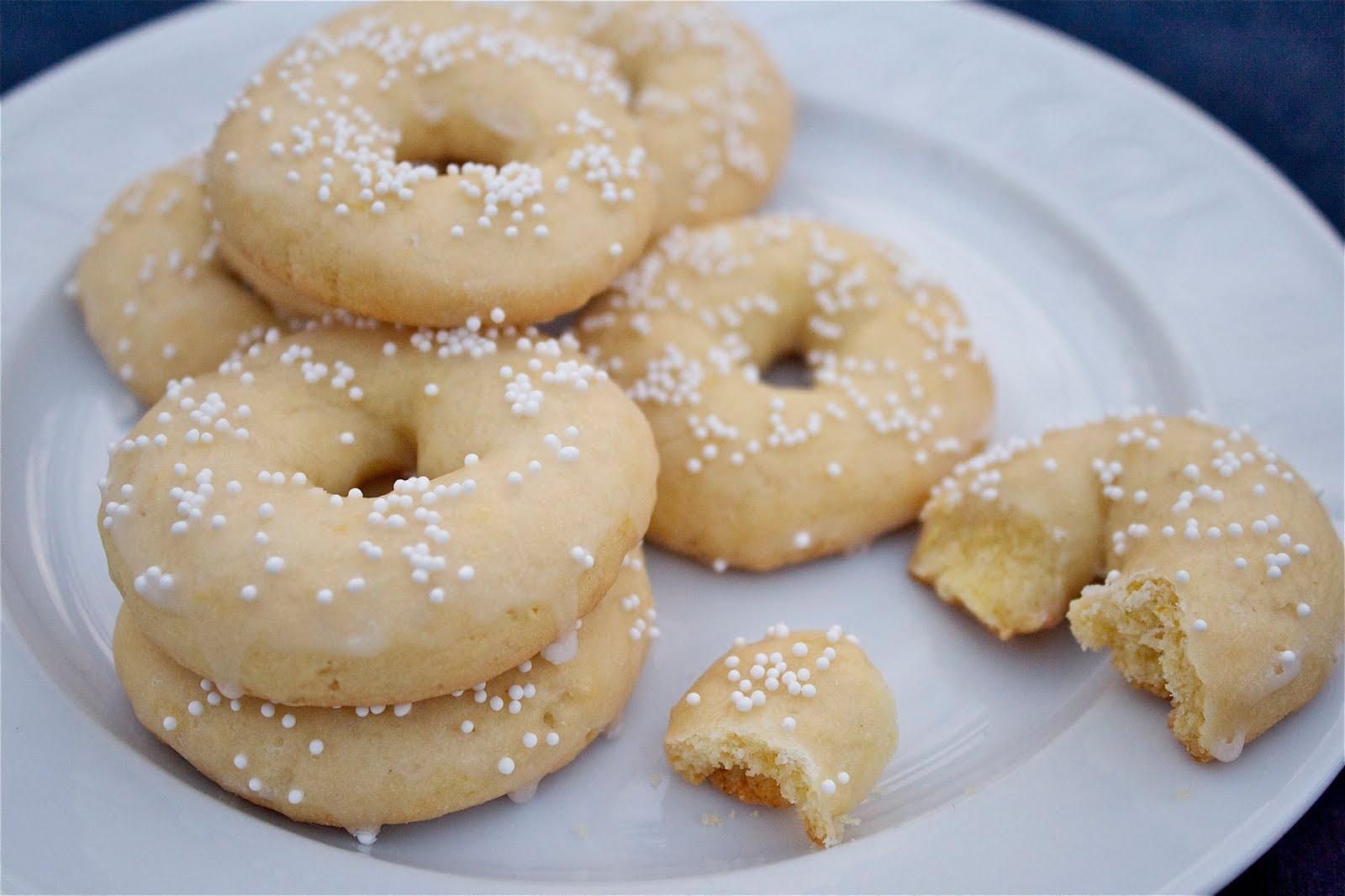 Cosmocookie Ciambelle Lemon Wreath Cookies