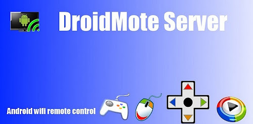 DroidMote controle remoto wifi Android
