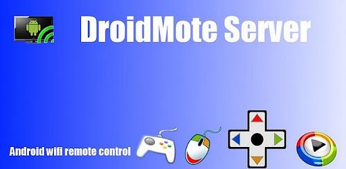 DroidMote controle remoto wifi Android