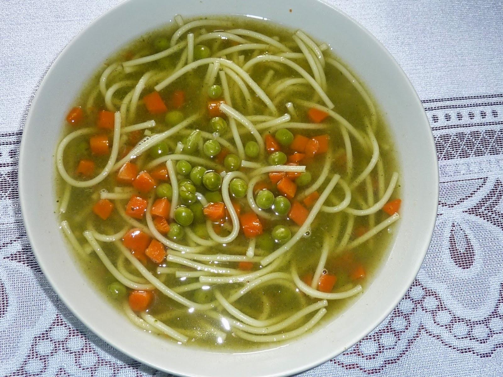 Zielony rosół :-)