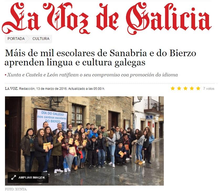O galego...