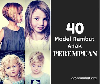 40 model rambut untuk anak perempuan 23654