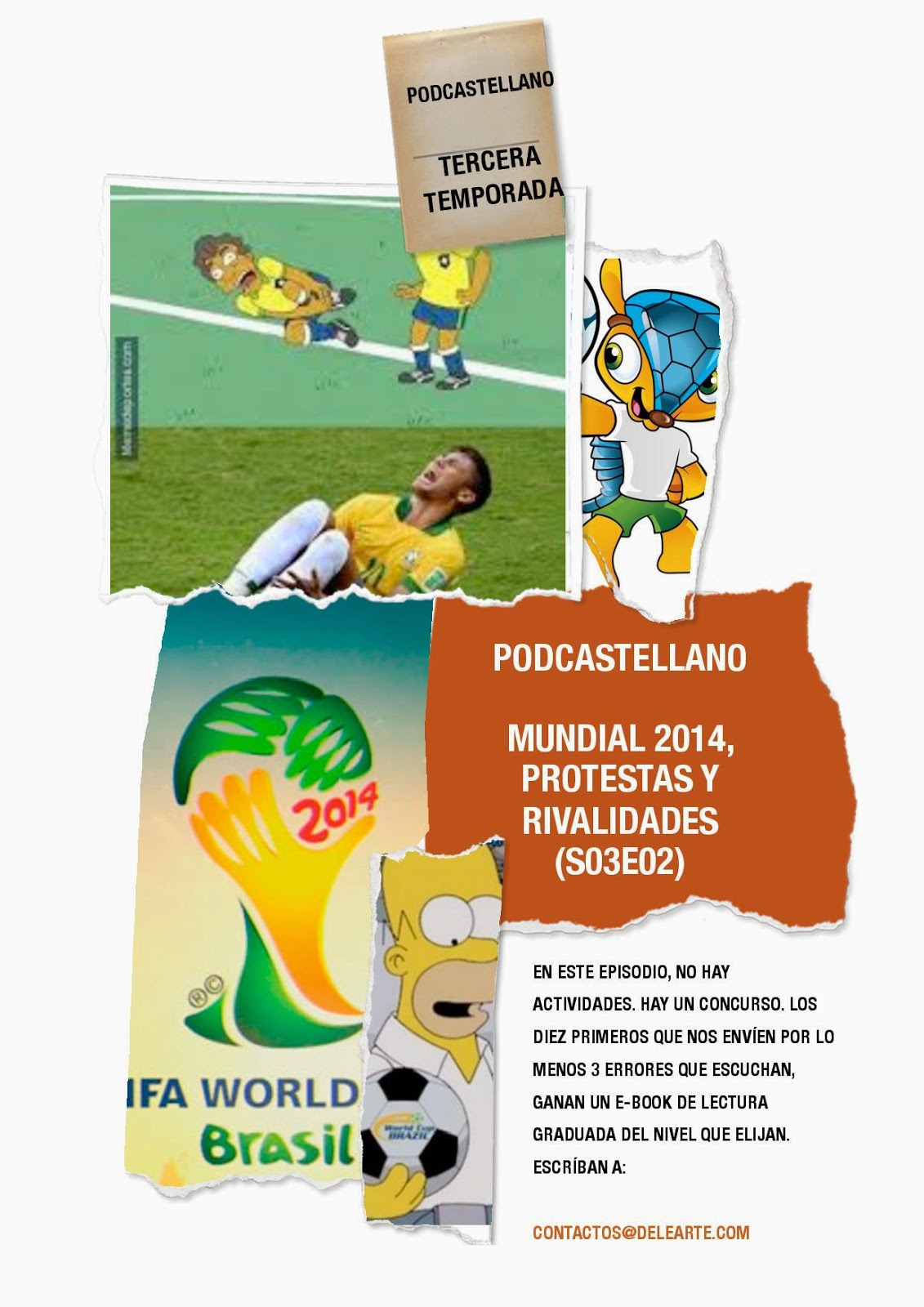 Podcastellano-+Mundial+2014,+protestas+y