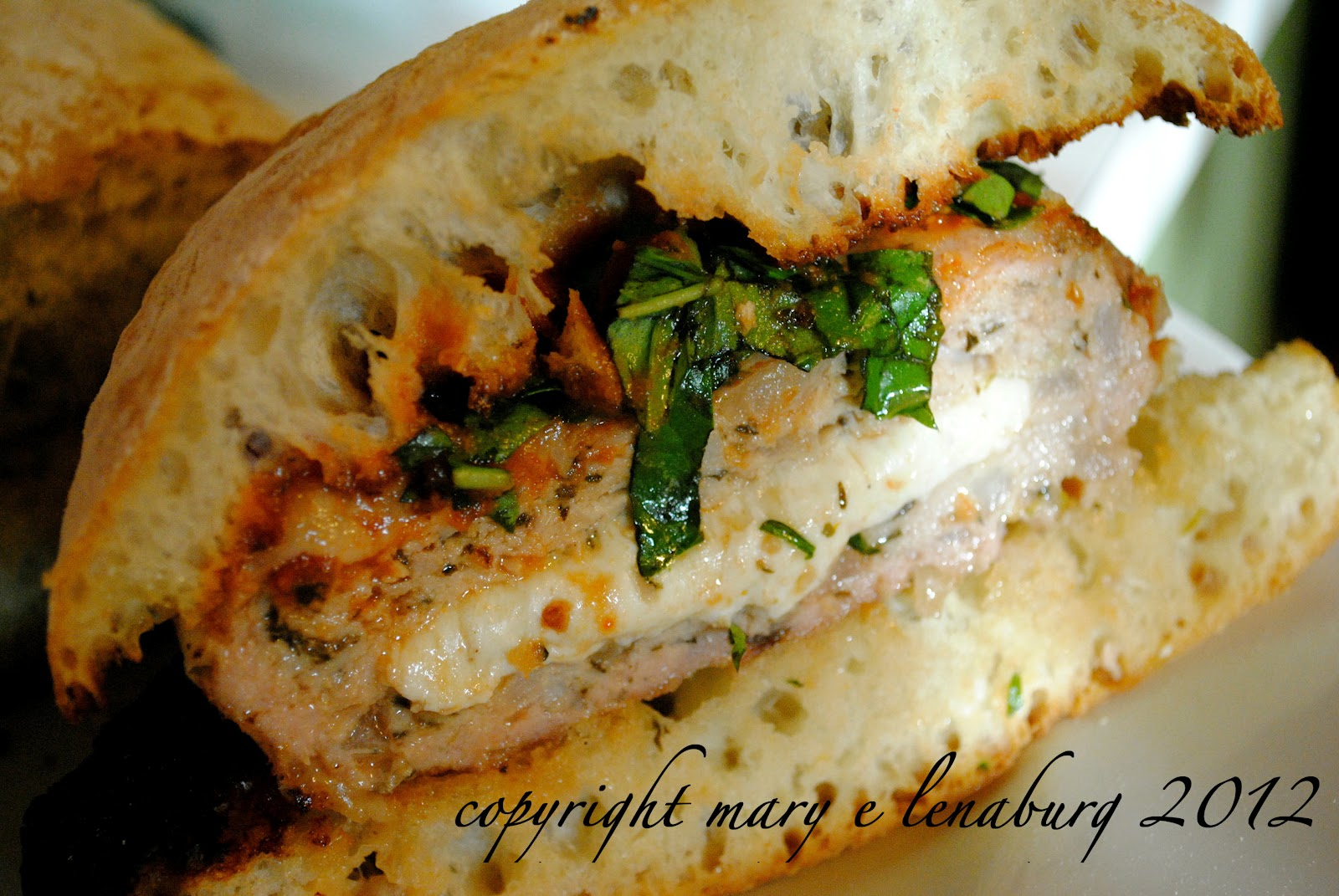 Passionate Perseverance: tasty tuesday ~ chicken parmesan burger...