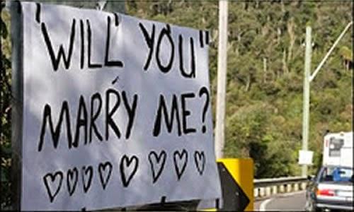 Quer casar comigo ?