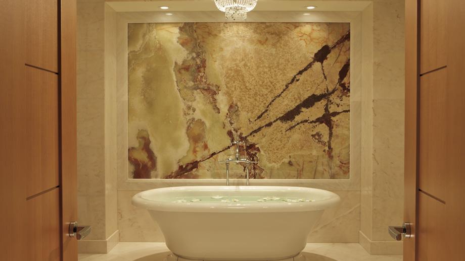 To da loos: Marble-licious washrooms walls