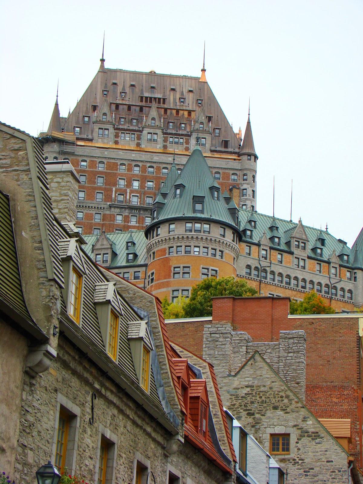 Замок Фронтенак считается самым часто фотографируемым отелем в мире.