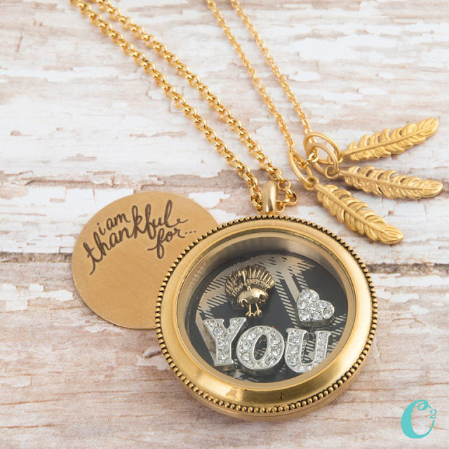 I Am Thankful For... Origami Owl Window Plate at StoriedCharms.origamiowl.com