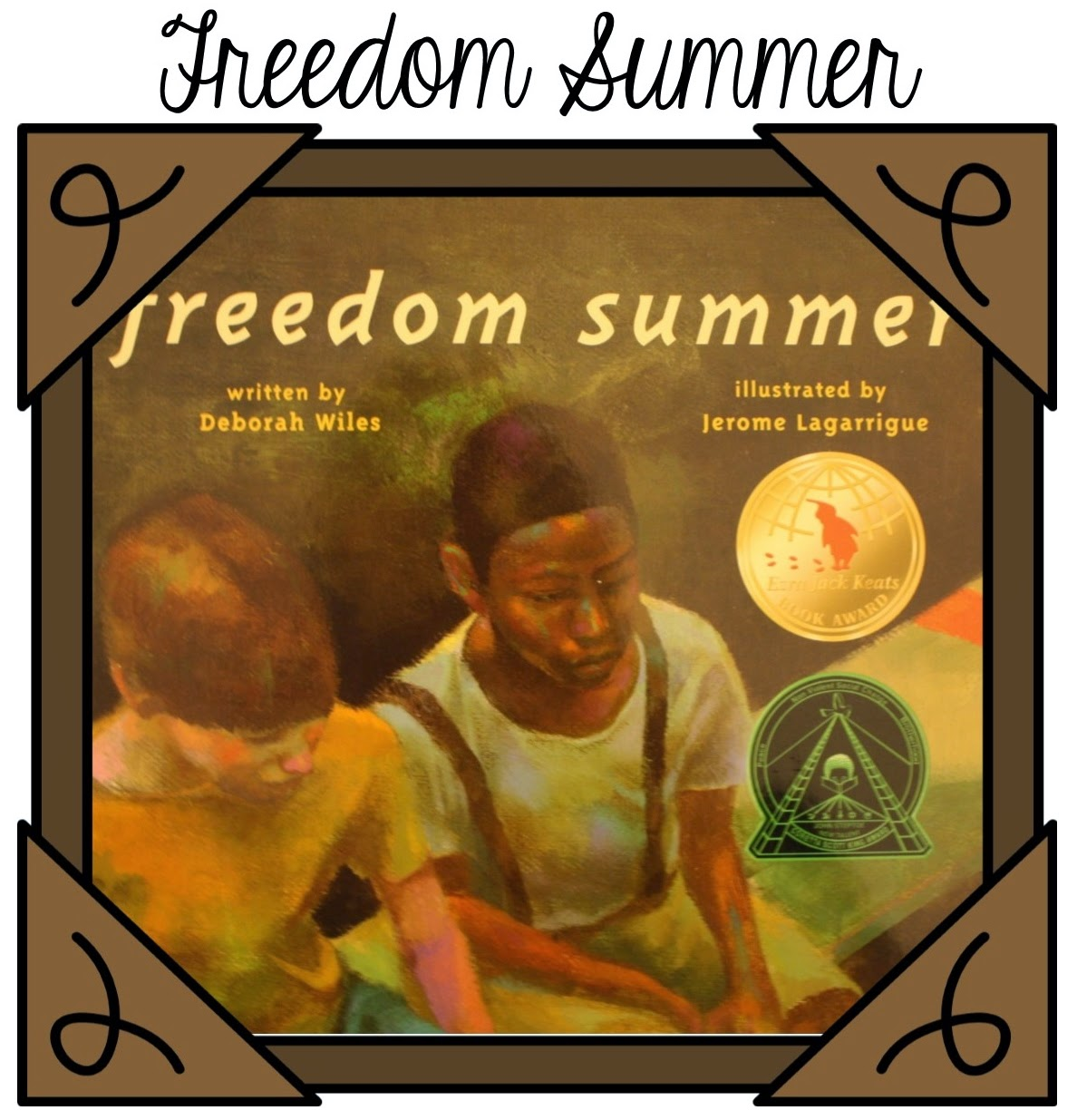 http://www.amazon.com/Freedom-Summer-Deborah-Wiles/dp/068987829X/ref=tmm_pap_swatch_0?_encoding=UTF8&sr=8-2&qid=1421621446