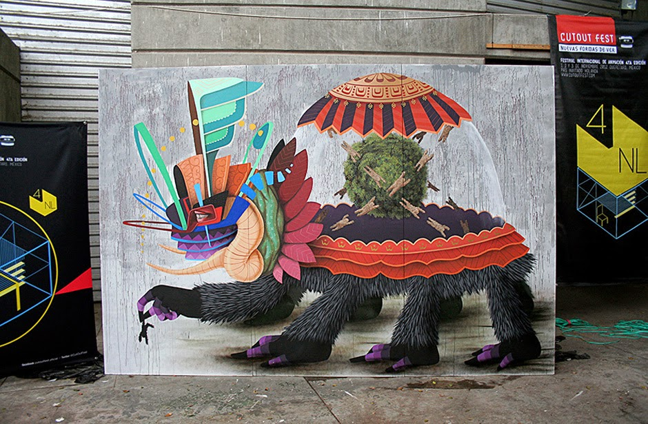 The Best Examples Of Street Art In 2012 And 2013 - Curiot (Favio Martinez), Mexico