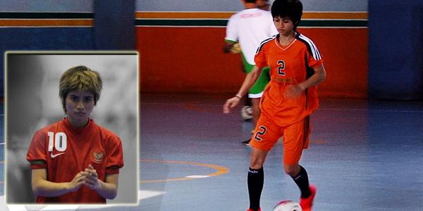 Inilah Cewek Tomboy Penghuni Timnas Futsal