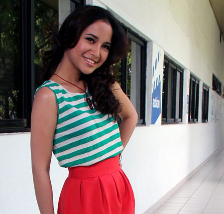 Foto Chacha Frederica Artis Indonesia beautiful Celebrity Picture