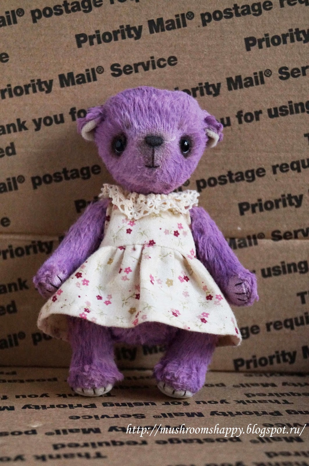 teddy bear lilac