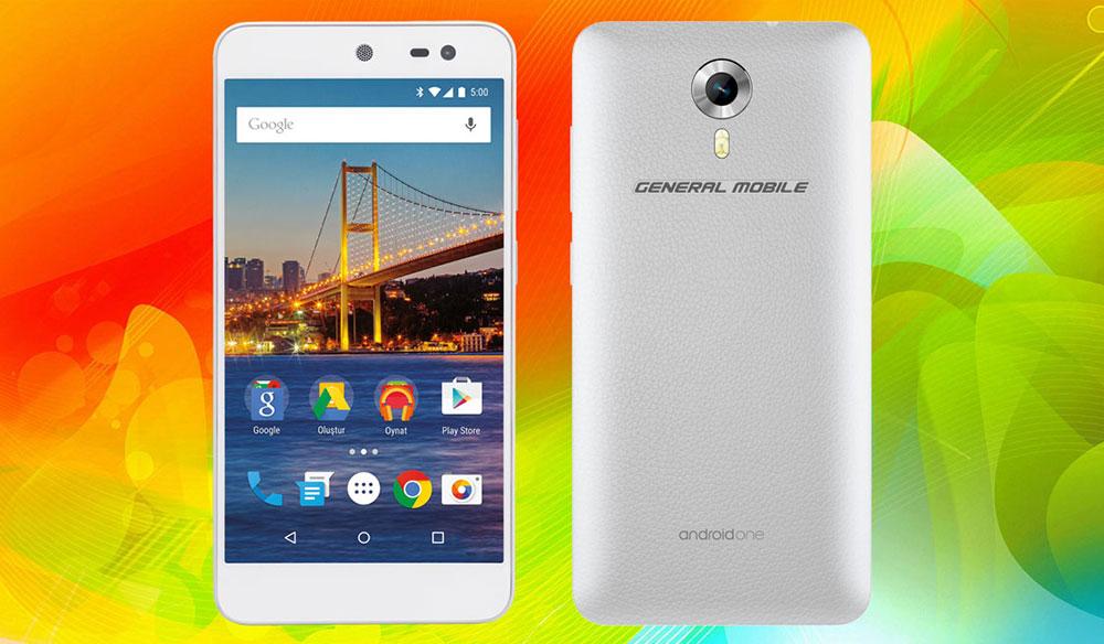 Android One'lı General Mobile 4G Fiyatı ve Özellikleri