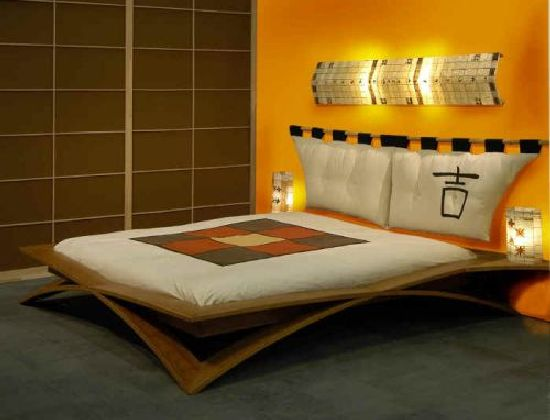 Asian Style Bedroom Ideas Creative: Great Art Decoration: Unique Bedroom Design