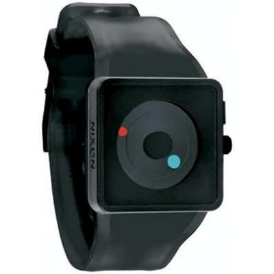Nixon Men's A116-000 Plastic Analog Black Dial Watch