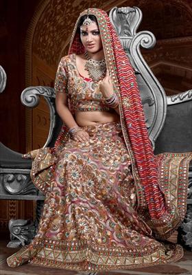 latest lehenga saree designs