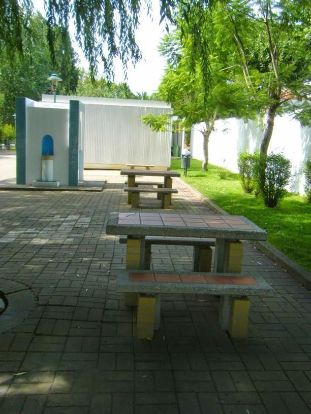 Mesas do Parque de Piquenique