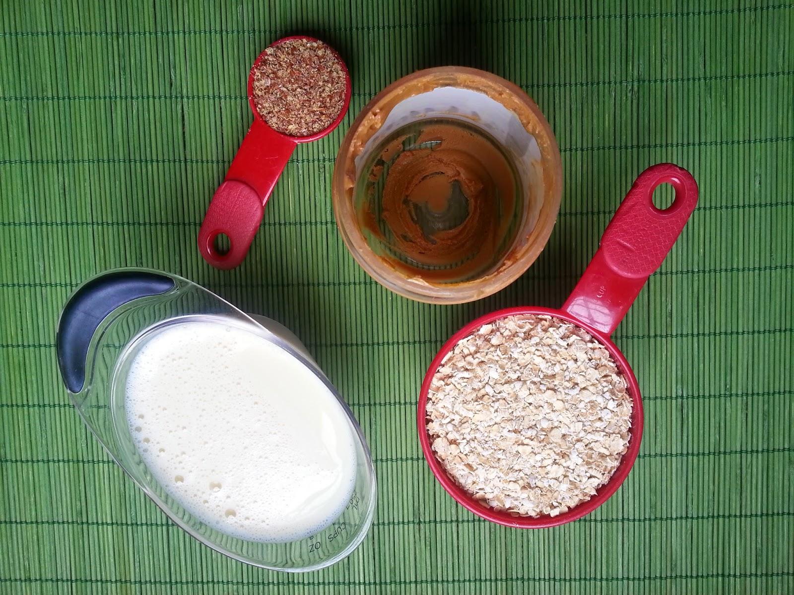 oatmeal sunbutter