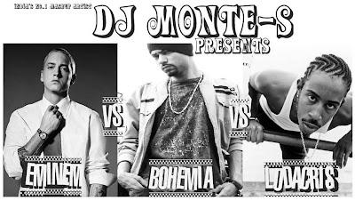 Eminem Vs Bohemia Vs Ludacris Mashup - King of Rap Castle - DJ Monte-S free download mp3