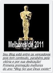 """Lista dos vencedores de melhores Blogs de 2011"""""""