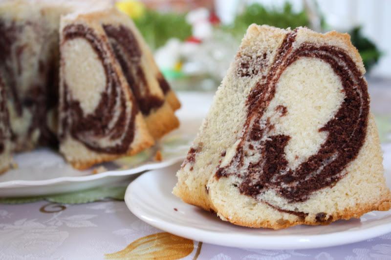 Babka marmurkowa  Dusiowa kuchnia  blog kulinarny -> Kuchnia Szeroko Otwarta Babka Marmurkowa