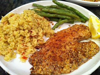 this week s french friday recipe was almond flounder meuniere which ...