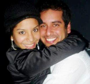 Junior Silva y Mayra Couto