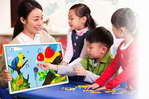 моноблок Toshiba Shared Board можно использовать в детском саду
