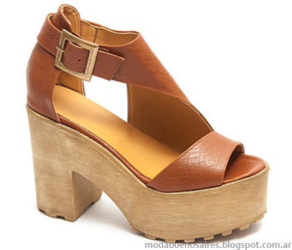 Sandalias verano 2015 moda argentina en calzado femenino Traza.