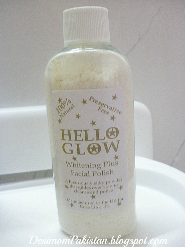 HELLO GLOW WHITENING PLUS FACIAL POLISH