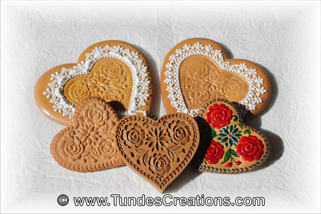 Baking with cookie molds by Tunde Dugantsi