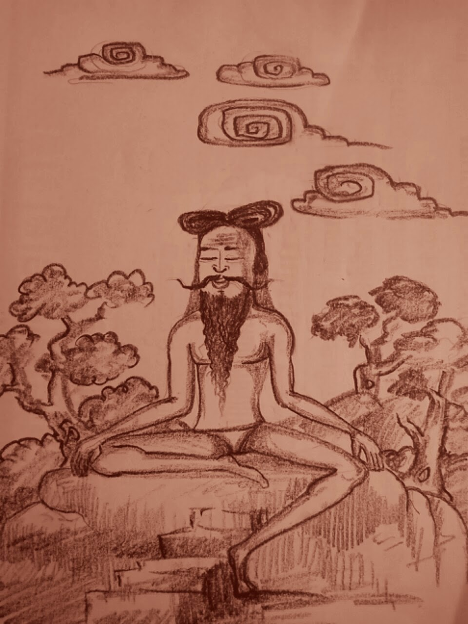 சதுரகிரி மலை அடிவாரத்தில்  தபோவனம் ஒன்று இருக்கிறது.அதனுடைய பெயர் மாவூற்று ஆகும்.