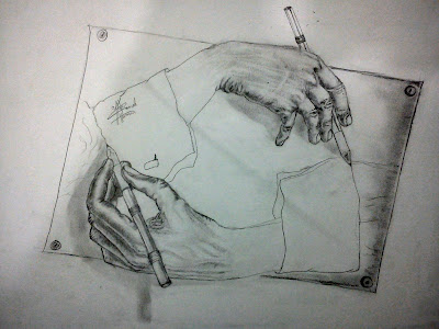 رسم بالرصاص