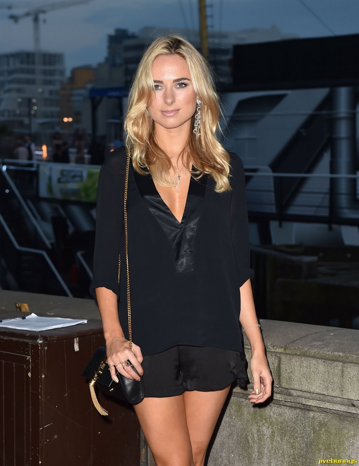 Kimberley Garner - Sexy Mac launch party on HMS President, London - 18/09/2014