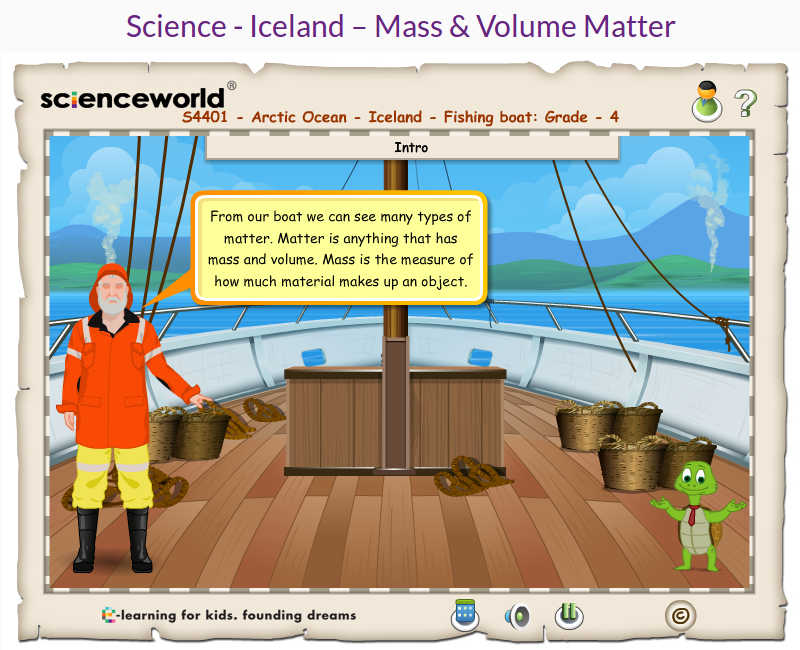 http://www.e-learningforkids.org/science/lesson/iceland-mass-volume-matter/