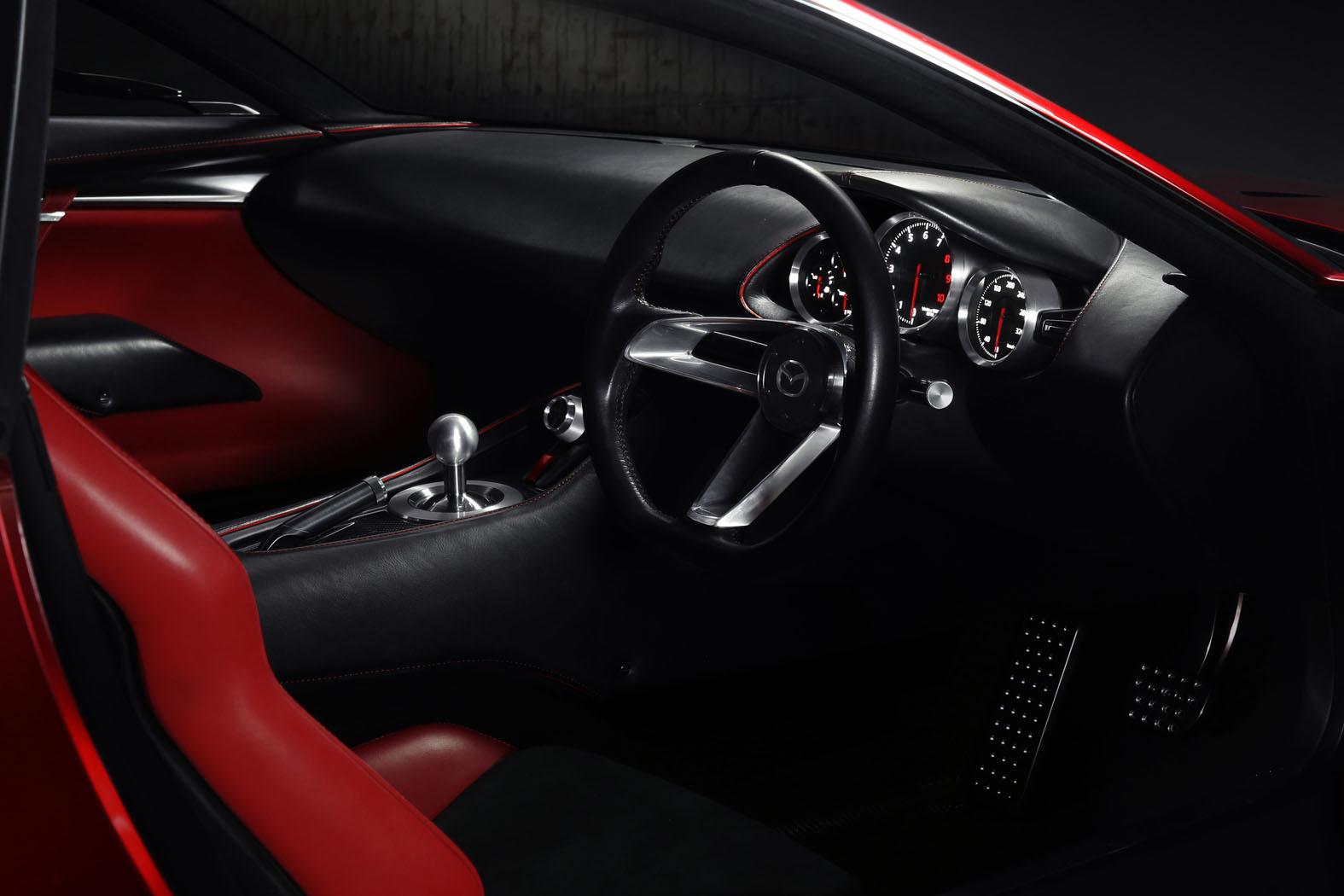 Mazda Rx 8 2017 Interior >> New Mazda RX-Vision Concept Looks Into The Rotary's Future | Carscoops