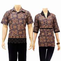 Blouse sarimbit batik