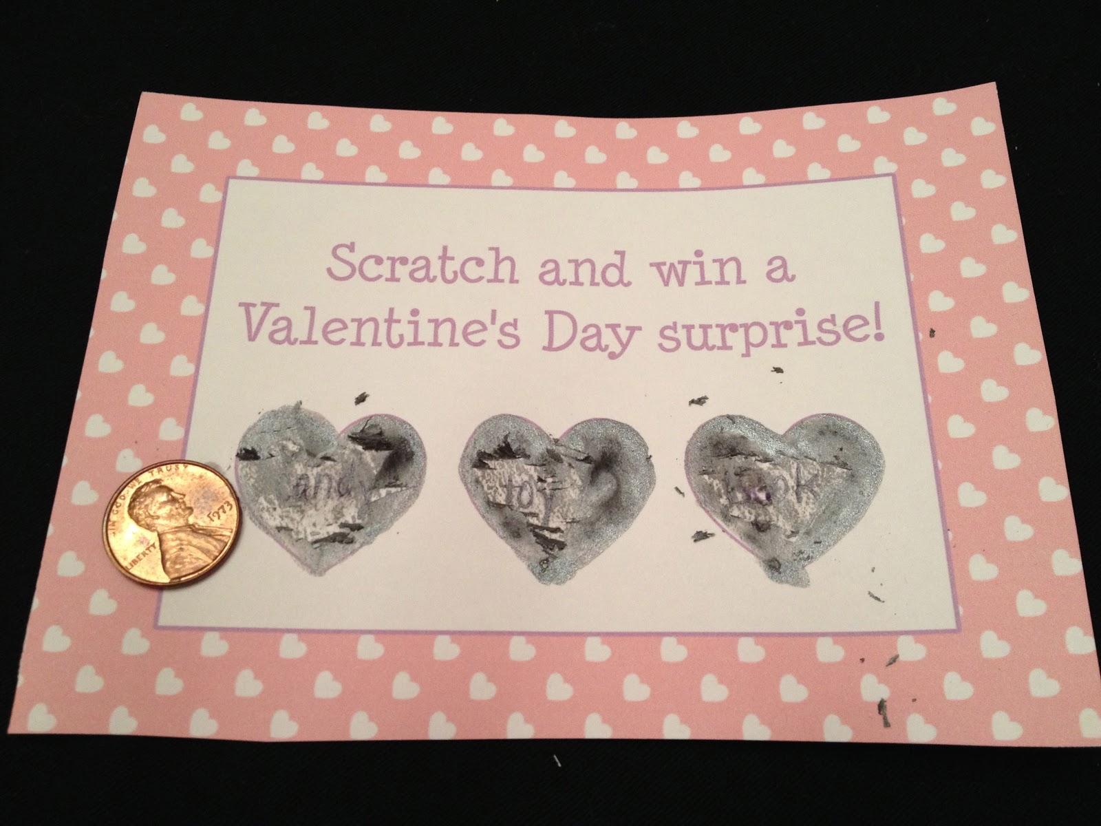 DIY Scratch Off Valentines for Kids and Adults The Chirping Moms – Scratch off Valentine Card